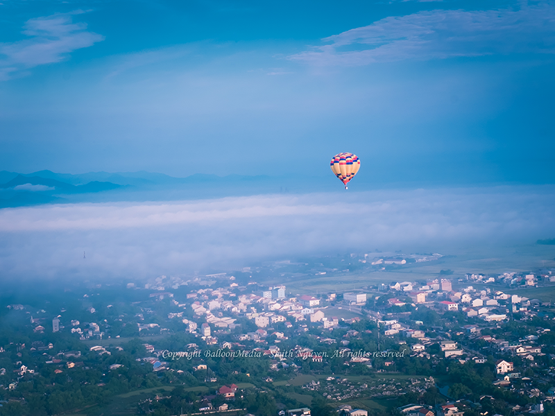 dịch vụ bay khinh khí cầu