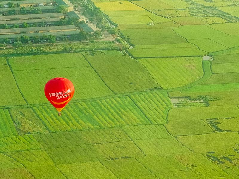 khinh khí cầu Vietjet Air