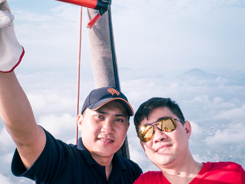 đăng ký tham gia bay cùng khinh khí cầu